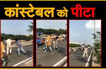 जोधपुर में सड़क पर इस वजह से..