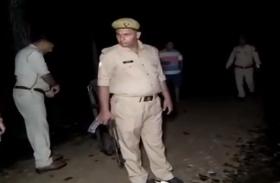 यूपी पुलिस ने 10 हज़ार के इनामी बदमाश को मुठभेड़ में कर दिया बेहाल