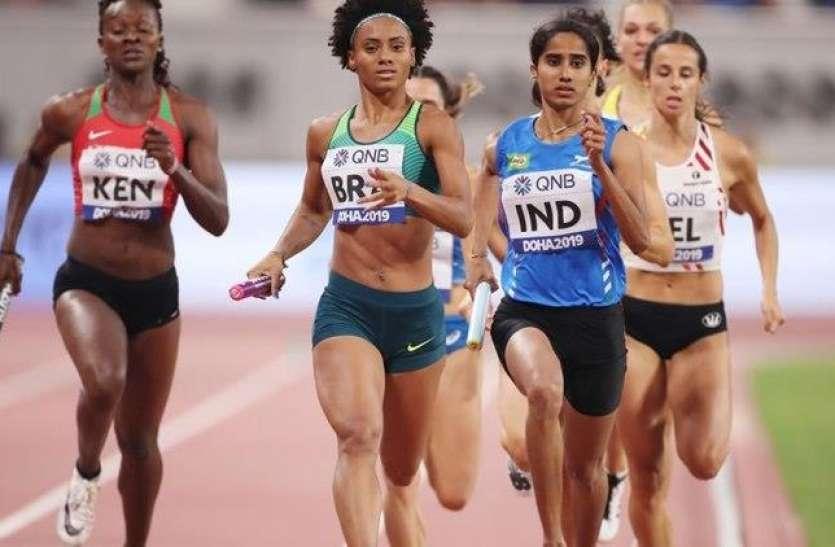 वर्ल्ड एथलेटिक्स चैम्पियनशिपः फाइनल में 7वें स्थान पर रही भारतीय टीम