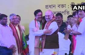 प.बंगाल: तृणमूल को फिर बड़ा झटका, दिग्गज नेता भाजपा में शामिल