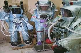 चार बच्चो ने कबाड़ से बनाया एस्ट्रोनॉट मॉडल, चन्द्रयान-3 का विक्रम लैंडर भी दिखा