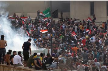 इराक में सरकार विरोधी प्रदर्शन में 11 की मौत, पीएम ने राजधानी बगदाद में लगाया कर्फ्यू