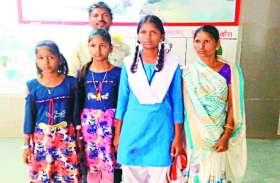 पति को खोने के बाद सीएम द्वारा घोषित 1 लाख के मुआवजे के लिए भटक रही पांच बच्चों की मां