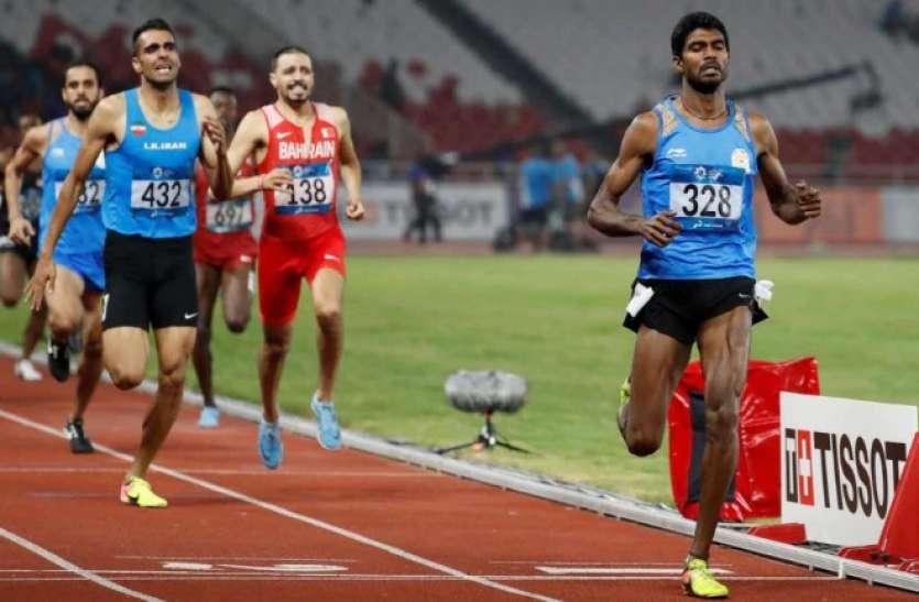 वर्ल्ड एथलेटिक्स चैम्पियनशिप: 1500 मीटर दौड़ से बाहर हुए भारत के जिन्सन जॉनसन