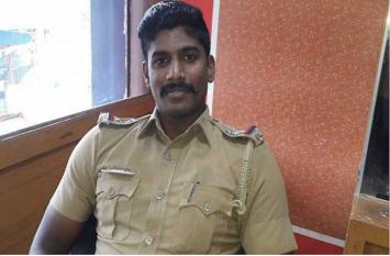 इस पुलिसकर्मी की वजह से ज्वेलरी शोरूम का चोर मणिकंडन पकड़ा गया, अब हो रही जमकर तारीफ