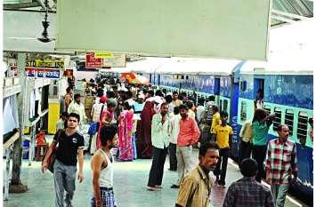 दिखने लगा रीमॉडलिंग का असर, सीधे स्टेशन पहुंच रहीं ट्रेनें