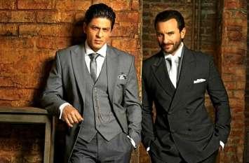 सैफ अली खान ने शाहरुख पर कसा तंज, कहा- लड़कियों का पीछा करने वाले सारे स्टार हिट हो गए...