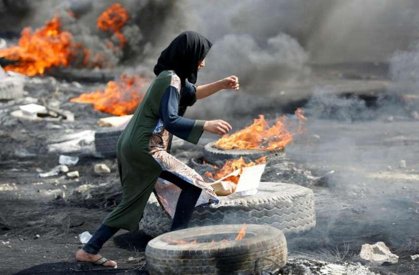 इराकी प्रधानमंत्री ने दिया बगदाद से कर्फ्यू हटाने का आदेश, अभी भी प्रदर्शन जारी