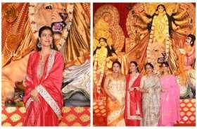 साड़ी स्टाइल: हर साल दुर्गा पूजा के अवसर पर काजोल पहनती है ये परिधान