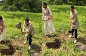 करीना कपूर करेगीं खेती,कुदाल और फावड़ा चलाती आईं नजर, वीडियो हुआ वायरल