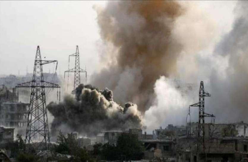 सीरिया: रूसी हवाई हमले में 9 जिहादी ढेर, 8 घायल