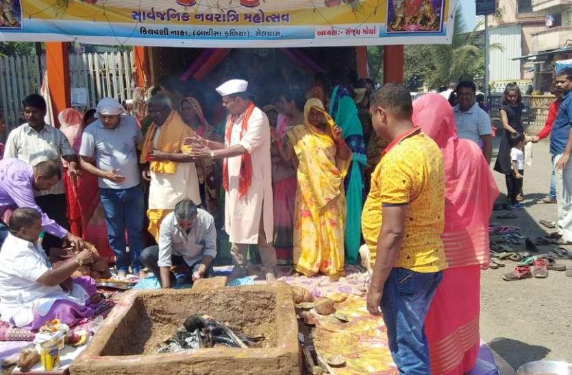 Navratra News; नवरात्र के आठवें दिन देवी महागौरी को मनाया