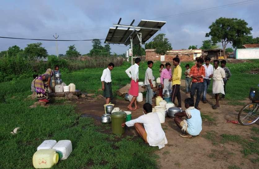 एक सप्ताह से बिजली सप्लाई ठप, पीने के पानी को मोहताज ग्रामीण