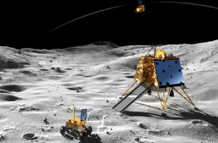 चंद्रयान-2: चांद पर निकला दिन, सूरज की रोशनी लैंडर विक्रम में डालेगी नई जान!
