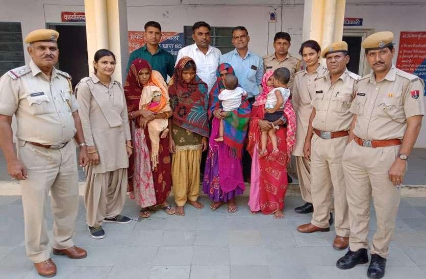 कोटा से गिरफ्तार आरोपी महिलाओं से 2 लाख के चोरी के आभूषण बरामद