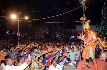 अशोक वाटिका का दृश्य देखने पहुंची हनुमानगढ़ की जनता