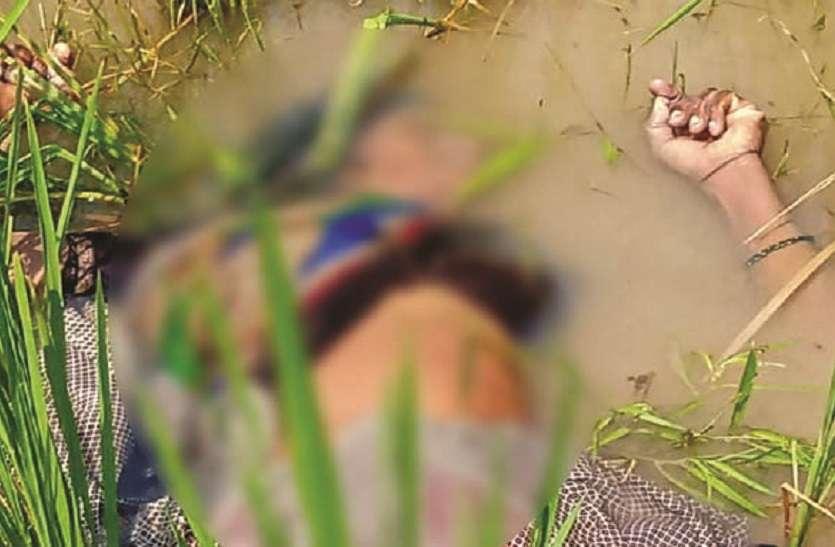 मां-बेटी की हत्या कर अलग-अलग जिलों में फेंका शव, मौके पर कई थानों की पुलिस मौजूद