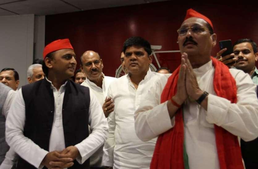 अखिलेश यादव की प्रेस वार्ता में भाजपा का चलाया गया वीडियो, रमाकांत यादव ने दिया बड़ा बयान