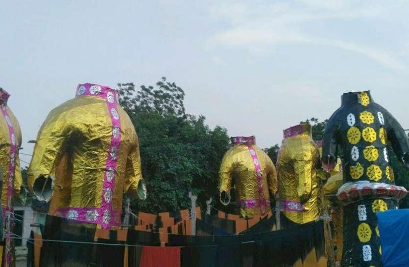 Ahmedabad News: सजने लगे 'दशानन' के पुतले, जानिए अहमदाबाद में कहां-कहां होगा रावण दहन