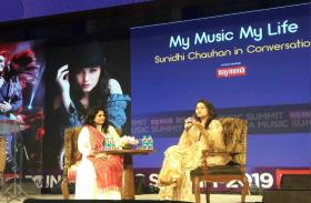 MTV India Music Summit 2019 : बचपन के किस्सों को शेयर करते हुए 'सुनिधि चौहान' ने इंडस्ट्री में काम को लेकर जाहिर की ये इच्छा