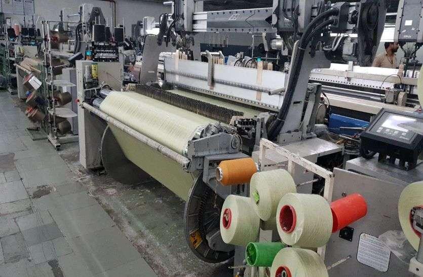 सस्ते विदेशी धागे ने कपड़ा उद्योग की कमर तोड़ी