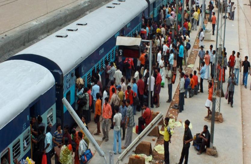 छुट्टियों में घर जा रहे यात्रियों के लिये खुशखबरी, दीपावली-छठ पर चलेंगी स्पेशल व सुविधा ट्रेन