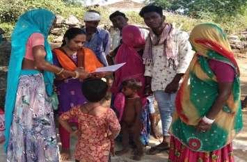 चिकित्सा टीम सनपुर में, रक्त स्लाइड लीं, घर-घर जाकर स्वास्थ्य जांच, हालात नियंत्रण में