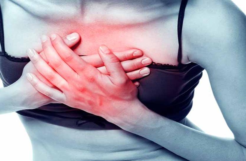 दिल की नसों में सिकुड़न से बढ़ते हृदयाघात के मामले