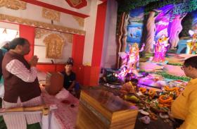 Video: झारखंड CM ने यूं किया कन्या पूजन, नारी शक्ति को लेकर कही यह बात