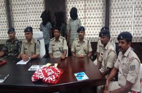 खूंटी पुलिस को मिली बड़ी सफलता, 3 हार्डकोर नक्सली गिरफ्तार