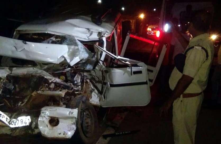 Breaking: ट्रक-बोलेरो की भिड़ंत में 5 की मौत, 1 गंभीर, दशहरे की खुशियां मातम में पसरी