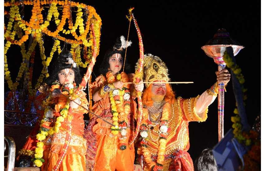 Dussehra festival in jabalpur