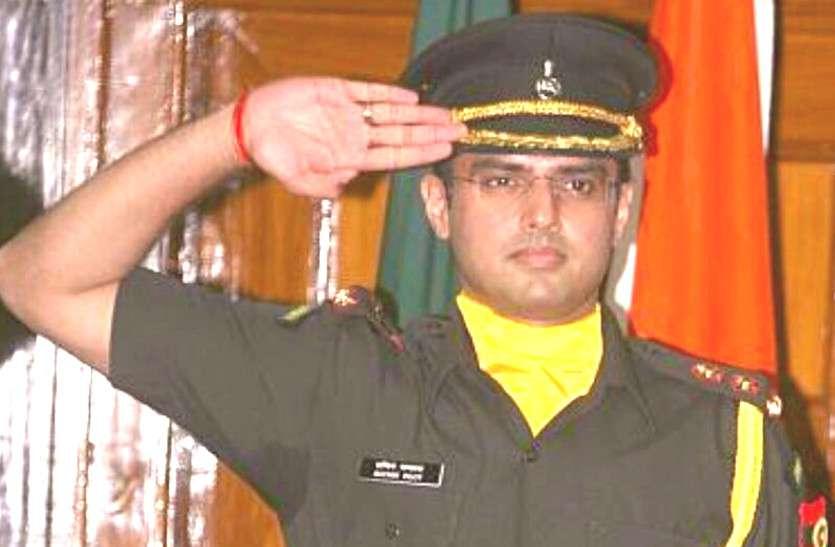 Sachin Pilot ने Army यूनिफॉर्म पहनेशेयर की तस्वीरें, लिखा- 'जय हिन्द', जाने अचानक ऐसा करने की वजह
