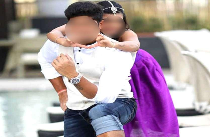 लव मैरिज के बाद प्रताडि़त होकर पति ने कर ली खुदकुशी, फरार पत्नी को गिरफ्तार करने राजस्थान पहुंची पुलिस