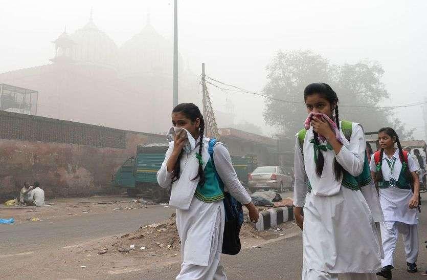 वायु प्रदूषण बना रहा है आक्रामक
