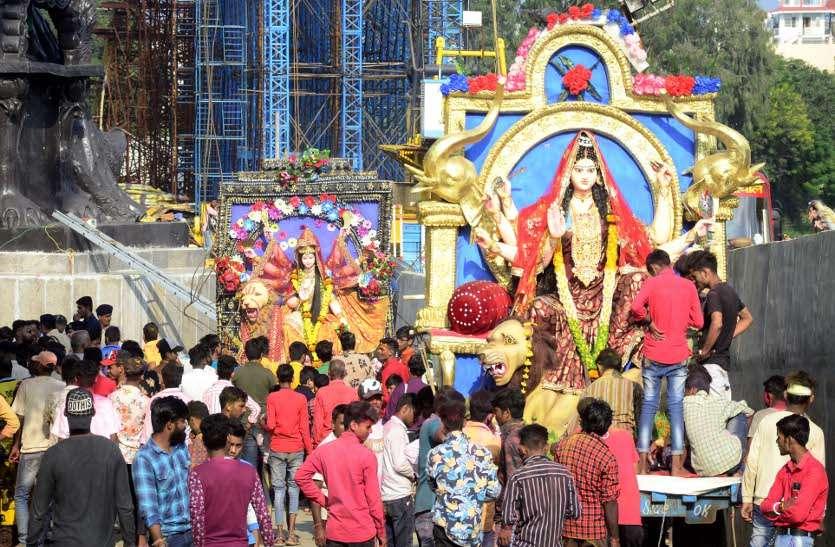 Durga Utsav celebrated with enthusiasm in Bhopal