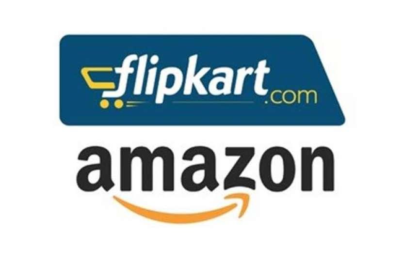 अमेजन, फ्लिपकार्ट की 6 दिनों में हुई 19000 करोड़ रुपए की बिक्री