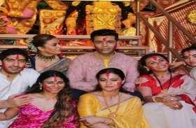 करण जौहर ने कजोल और रानी संग खेला सिंदूर, मस्ती के मूड में दिखाई दिए तीनों दोस्त