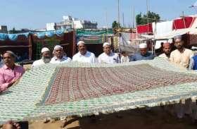 अबूलाला की दरगाह पर चादरपोशी की तस्वीरें