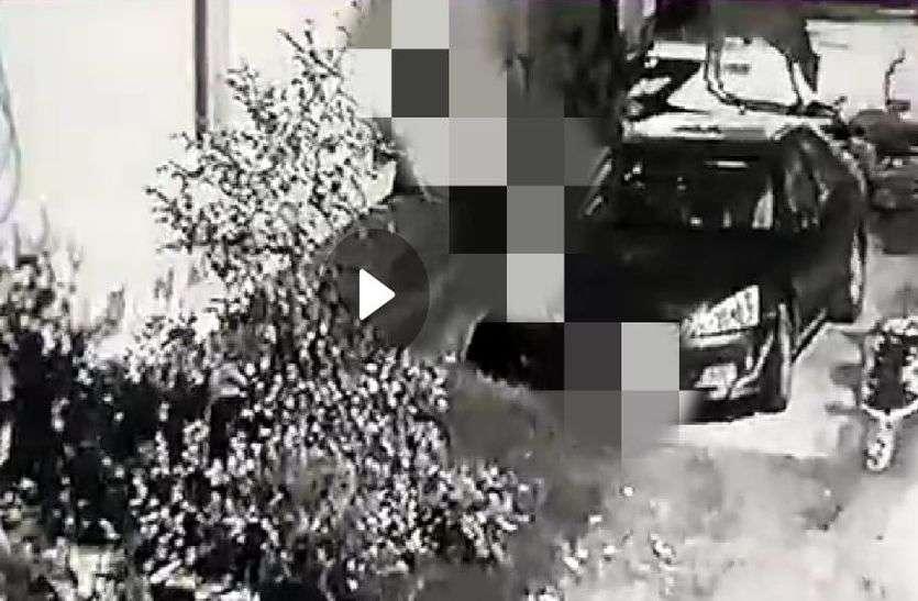 अलवर में मासूम बालिका से सडक़ पर बलात्कार, बलात्कार का सीसीटीवी फुटेज आया सामने