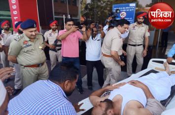 Video: पुलिस टीम पर हमला, जवानों को कर दिया लहूलुहान, गए थे नशा तस्कर को पकड़ने