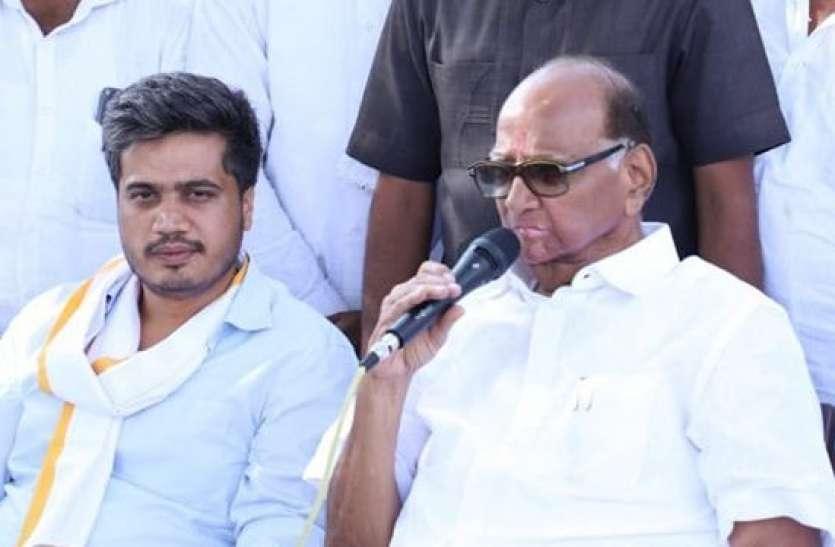 महाराष्ट्र: चुनावी सरगर्मी चरम पर, शरद पवार के भाई के पोते भी लड़ेंगे चुनाव