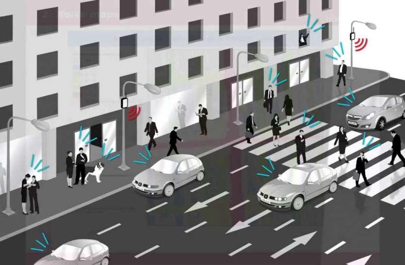 स्मार्ट कार नहीं यहां बनने वाली है स्मार्ट रोड, गाड़ियां नहीं बल्कि सड़कें चलेंगी