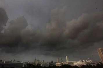 आसमान पर छाए बादल, बारिश को लेकर मौसम विभाग ने दी यह जानकारी, इन इलाकों को किया अलर्ट