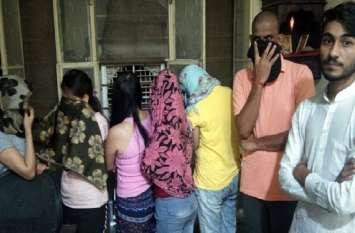 जयपुर में दो स्पा सेंटरों पर पुलिस की दबिश, मसाज की आड़ में चल रहा था वेश्यावृत्ति का अड्डा
