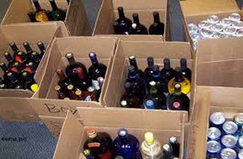 शराब पर राजनीतिक बयानबाजी के बाद सख्त हुई पुलिस
