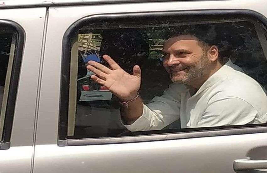 Rahul Gandhi:  राहुल गांधी सूरत कोर्ट में हुए पेश, कहा- गुनाह कबूल नहीं