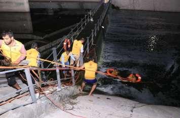 द्रव्यवती नदी में डूबने से एक व्यक्ति की मौत