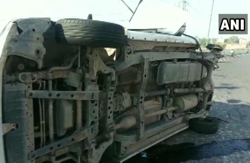 पंजाब: अकाली नेता बिक्रम मजीठिया के काफिले में शामिल कार ट्रक से टकराई, एक की मौत