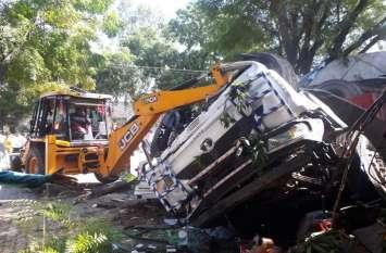 अनादरा का दर्दनाक हादसा : काल बनकर आया ट्रेलर, 5 जनों की मौत, 12 घायल